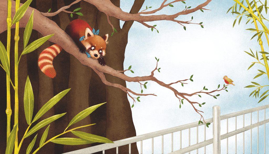 Kleiner Panda Pai - Illustration Kerstin Schoene Copyright Loewe Verlag Bindlach 2016 Text Saskia Hula -02